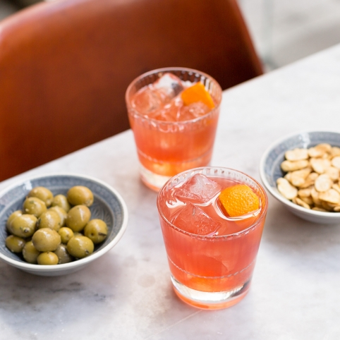 Happy Hour featuring Negronis with tapas at Camino Bankside