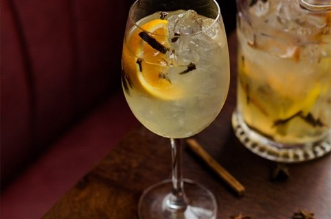 Sangria recipe Camino Tapas Restaurant London