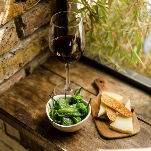 Wine and tapas at Camino London